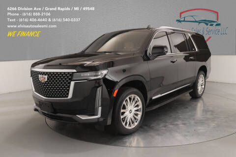 2021 Cadillac Escalade ESV for sale at Elvis Auto Sales LLC in Grand Rapids MI