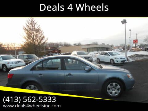2009 Hyundai Sonata for sale at Deals 4 Wheels in Westfield MA
