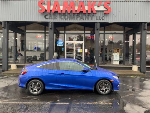 2019 Honda Civic for sale at Siamak's Car Company llc in Salem OR