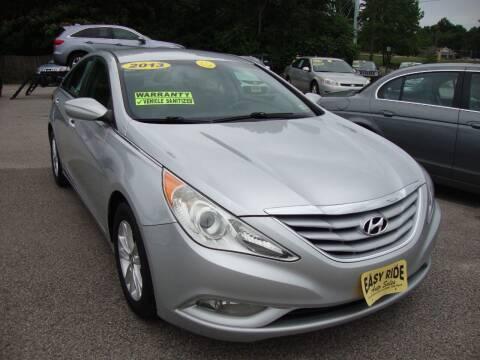 2013 Hyundai Sonata for sale at Easy Ride Auto Sales Inc in Chester VA