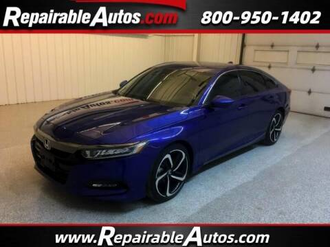 2020 Honda Accord for sale at Ken's Auto in Strasburg ND