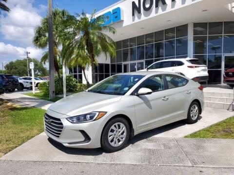 2017 Hyundai Elantra for sale at Mazda of North Miami in Miami FL