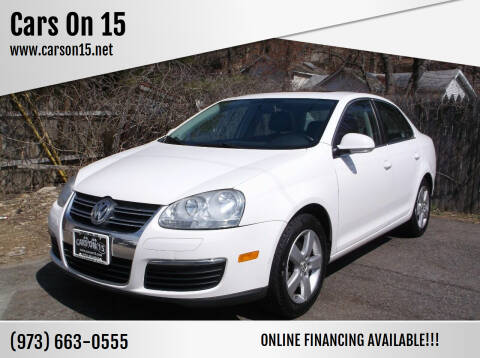 2009 Volkswagen Jetta for sale at Cars On 15 in Lake Hopatcong NJ