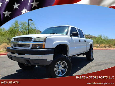 2004 Chevrolet Silverado 2500HD for sale at Baba's Motorsports, LLC in Phoenix AZ