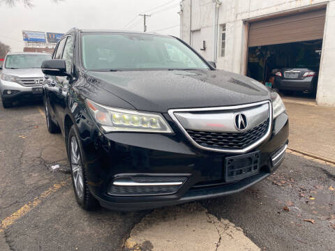 2014 Acura MDX for sale at GRAND USED CARS  INC in Little Ferry NJ