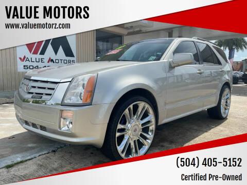 2007 Cadillac SRX for sale at VALUE MOTORS in Kenner LA