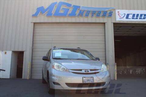2008 Toyota Sienna for sale at MGI Motors in Sacramento CA