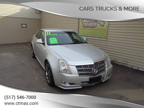 2011 Cadillac CTS for sale at Cars Trucks & More in Howell MI