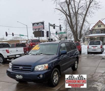 2005 Toyota Highlander for sale at Corridor Motors in Cedar Rapids IA