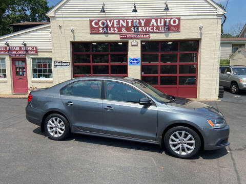 2012 Volkswagen Jetta for sale at COVENTRY AUTO SALES in Coventry CT
