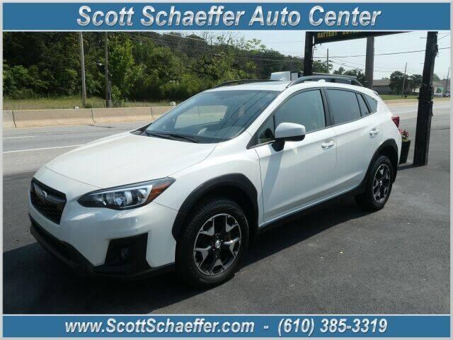 2018 Subaru Crosstrek for sale at Scott Schaeffer Auto Center in Birdsboro PA
