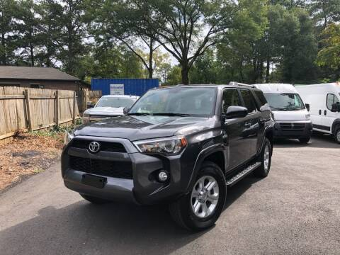 2019 Toyota 4Runner for sale at RC Auto Brokers, LLC in Marietta GA