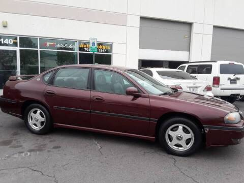2000 Chevrolet Impala for sale at M & M Auto Brokers in Chantilly VA