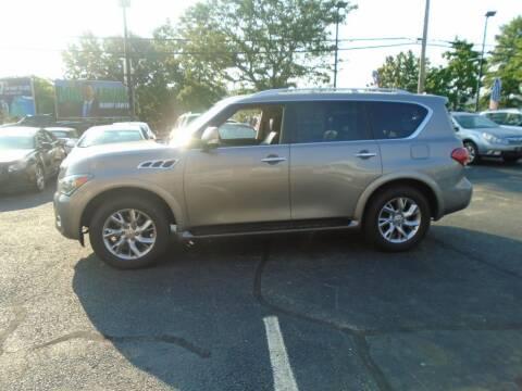2012 Infiniti QX56 for sale at Gemini Auto Sales in Providence RI