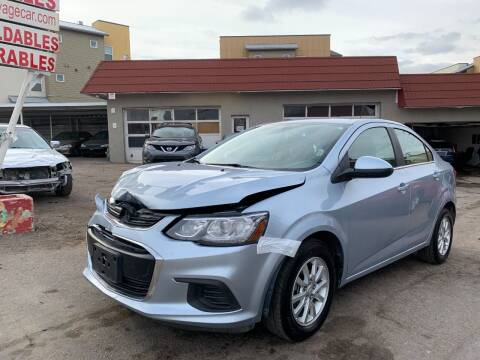 2017 Chevrolet Sonic for sale at STS Automotive in Denver CO