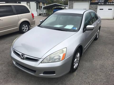 2006 Honda Accord for sale at RACEN AUTO SALES LLC in Buckhannon WV