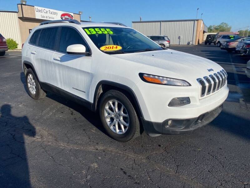 2014 Jeep Cherokee for sale at Used Car Factory Sales & Service Troy in Troy OH
