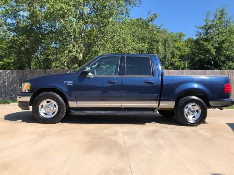 2002 Ford F-150 for sale at H3 Auto Group in Huntsville TX