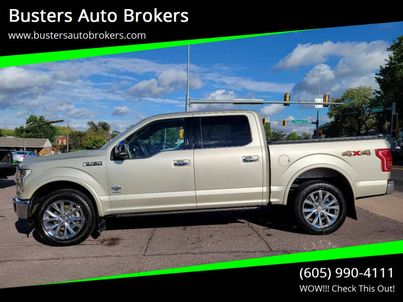 2017 Ford F-150 for sale at Busters Auto Brokers in Mitchell SD