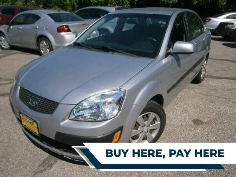 2009 Kia Rio for sale at WESTSIDE AUTOMART INC in Cleveland OH