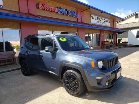 2019 Jeep Renegade for sale at Ohana Motors in Lihue HI