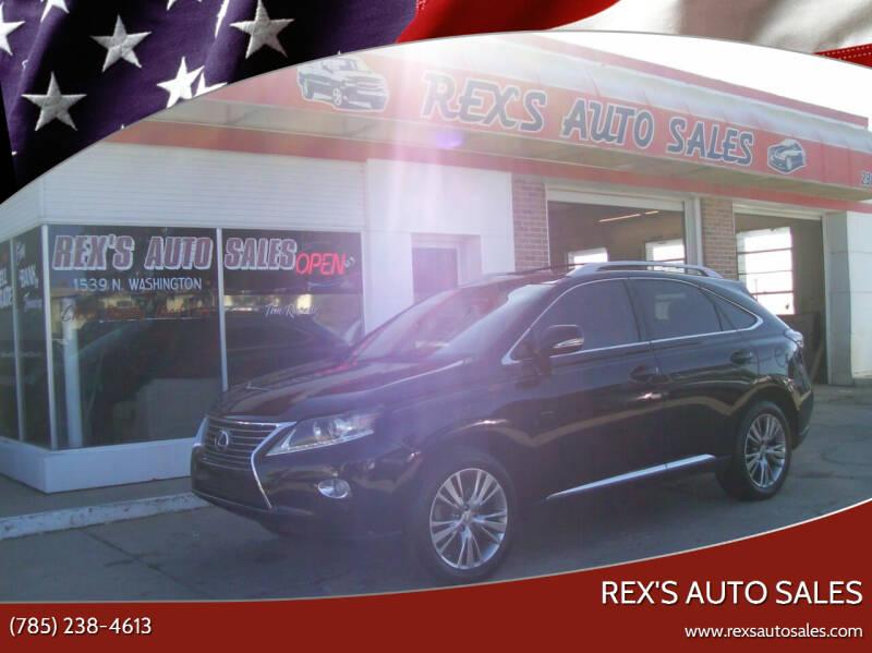 2013 Lexus RX 350 for sale at Rex's Auto Sales in Junction City KS