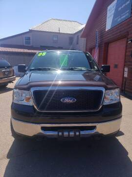 2008 Ford F-150 for sale at WB Auto Sales LLC in Barnum MN