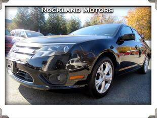 2012 Ford Fusion for sale at Rockland Automall - Rockland Motors in West Nyack NY