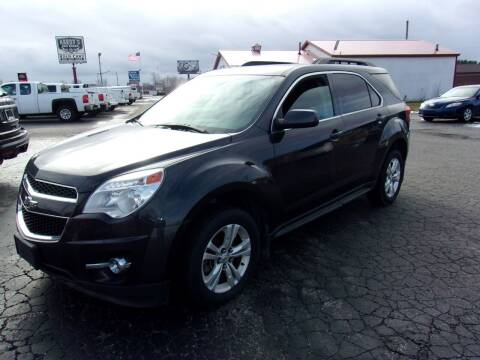 2015 Chevrolet Equinox for sale at DAVE KNAPP USED CARS in Lapeer MI