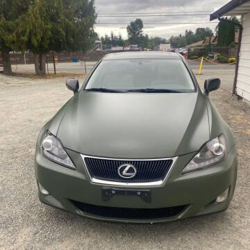 2007 Lexus IS 250 for sale at Road Star Auto Sales in Puyallup WA