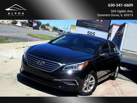 2016 Hyundai Sonata for sale at Alpha Luxury Motors in Downers Grove IL