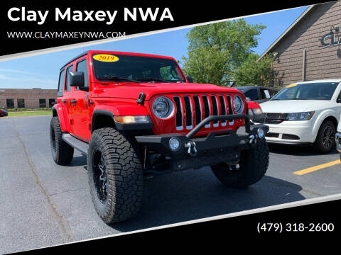 2019 Jeep Wrangler Unlimited for sale at Clay Maxey NWA in Springdale AR