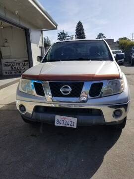 2009 Nissan Frontier for sale at Imports Auto Sales & Service in San Leandro CA
