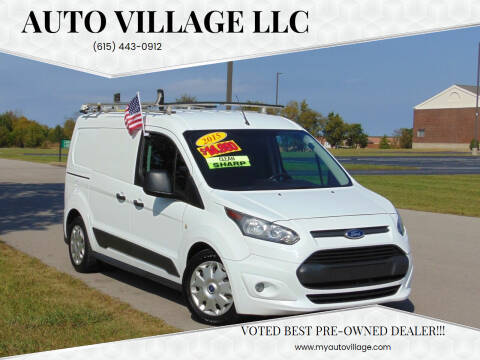 2015 Ford Transit Connect Cargo for sale at AUTO VILLAGE LLC in Lebanon TN