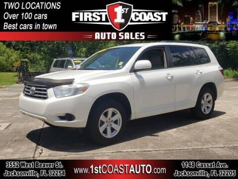 2010 Toyota Highlander for sale at 1st Coast Auto -Cassat Avenue in Jacksonville FL