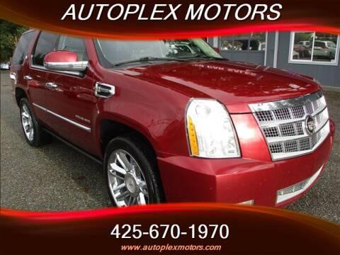 2011 Cadillac Escalade Hybrid for sale at Autoplex Motors in Lynnwood WA