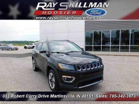 2018 Jeep Compass for sale at Ray Skillman Hoosier Ford in Martinsville IN