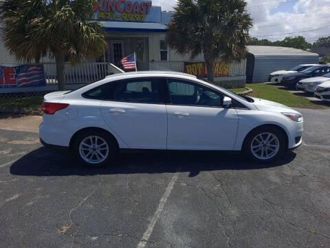 2018 Ford Focus for sale at Sun Coast City Auto Sales in Mobile AL