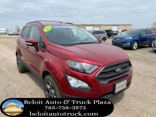 2018 Ford EcoSport for sale at BELOIT AUTO & TRUCK PLAZA INC in Beloit KS