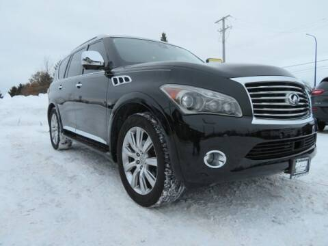 2014 Infiniti QX80 for sale at Import Exchange in Mokena IL