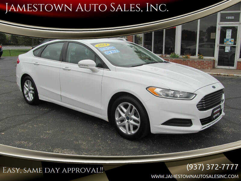 2014 Ford Fusion for sale at Jamestown Auto Sales, Inc. in Xenia OH