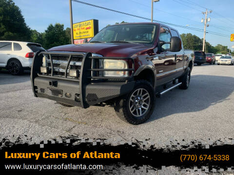 2006 Ford F-250 Super Duty for sale at Luxury Cars of Atlanta in Snellville GA