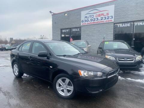 2009 Mitsubishi Lancer for sale at Auto Deals in Roselle IL