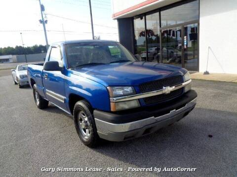 2003 Chevrolet Silverado 1500 for sale at Gary Simmons Lease - Sales in Mckenzie TN