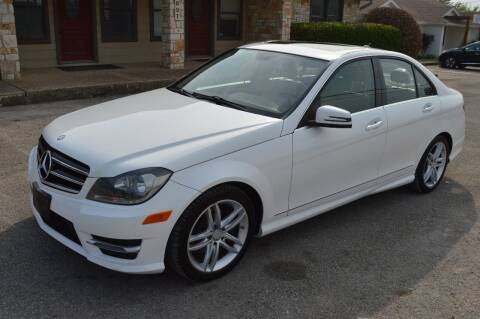 2014 Mercedes-Benz C-Class for sale at Coleman Auto Group in Austin TX