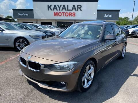 2013 BMW 3 Series for sale at KAYALAR MOTORS in Houston TX