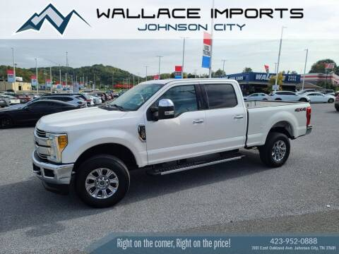 2017 Ford F-250 Super Duty for sale at WALLACE IMPORTS OF JOHNSON CITY in Johnson City TN