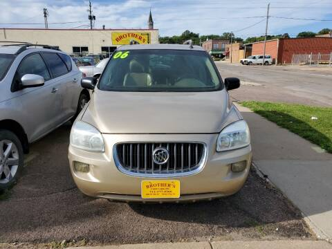 2006 Buick Terraza for sale at Brothers Used Cars Inc in Sioux City IA