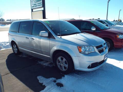 2012 Dodge Grand Caravan for sale at G & K Supreme in Canton SD