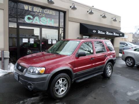 2005 Ford Escape for sale at Wilson-Maturo Motors in New Haven Ct CT
